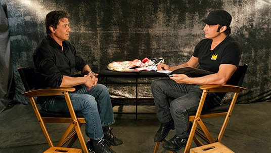 Sylvester Stallone on El Rey Network